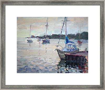 The Youngstown Yachts Framed Print