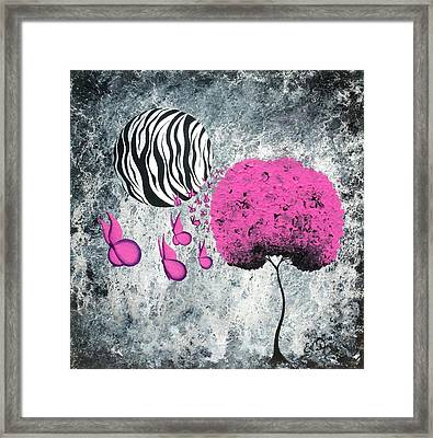 The Zebra Effect 1 Framed Print