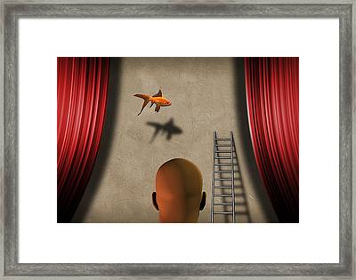 Framed Print featuring the digital art Theater by Bruce Rolff