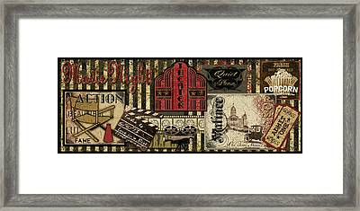 Theater Framed Print by Jean Plout