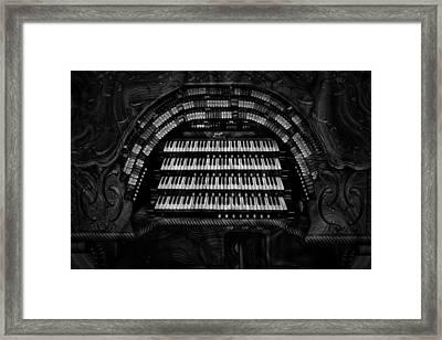 Theater Organ Framed Print