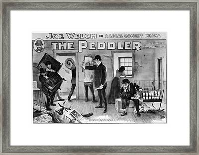 Theater The Peddler, 1902 Framed Print by Granger
