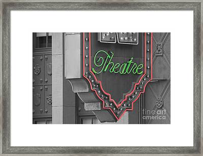 Theatre Framed Print by Dan Holm