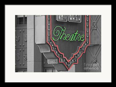El Capitan Theatre Framed Prints