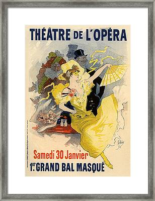 Theatre De L'opera Framed Print by Gianfranco Weiss