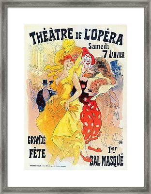Theatre De Opera Framed Print by Charlie Ross