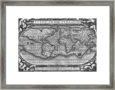 Theatre Of The World Framed Print