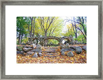 Theatre Reception Area Framed Print
