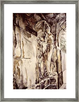 Theatre Relief 2 Framed Print
