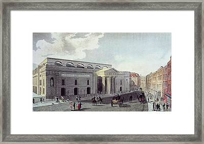 Theatre Royal, Covent Garden, 1809 Colour Litho Framed Print