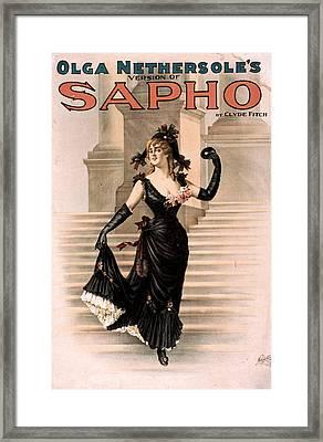 Theatre Sapho, 1900 Framed Print