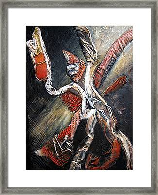 Theatrics Framed Print
