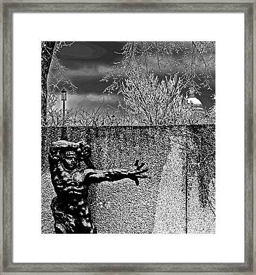 The Great Warrior Of Montauban Framed Print