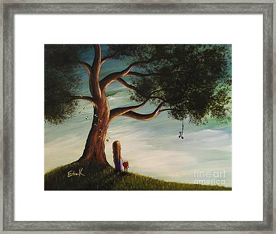 Their Favourite Place By Shawna Erback Framed Print