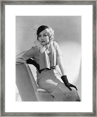 Thelma Todd, 1932 Framed Print