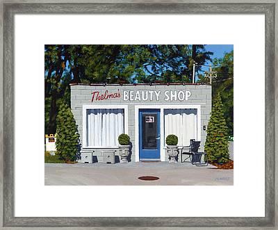 Thelma's Framed Print