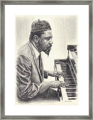 Thelonious Monk II Framed Print