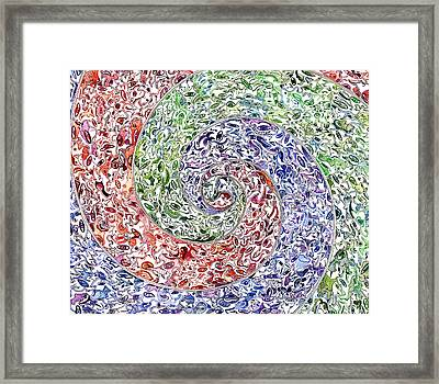 Themeless Process 11 Framed Print by Dave Migliore
