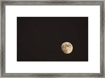Themoon Framed Print by Amr Miqdadi