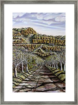 Then And Now A New Beginning 2 Framed Print by Linda  Steine