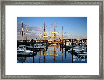 Then And Now Framed Print by Butch Lombardi