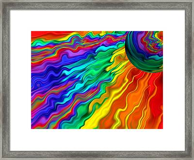 Then The Sky Exploded 1 Framed Print