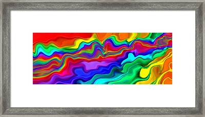 Then The Sky Exploded 2 Framed Print