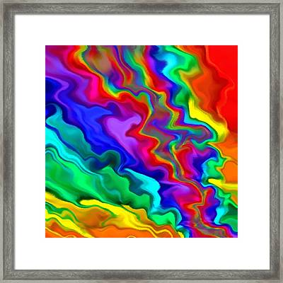 Then The Sky Exploded 3 Framed Print