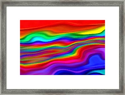 Then The Sky Exploded 4 Framed Print