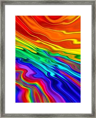 Then The Sky Exploded 5 Framed Print