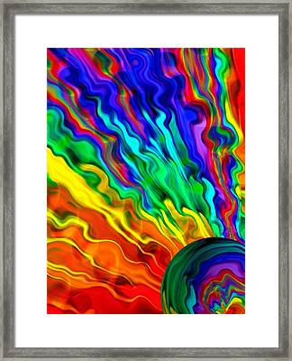 Then The Sky Exploded 6 Framed Print