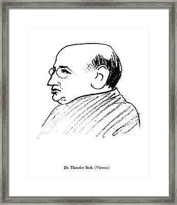 Theodor Reik (1888-1969) Framed Print