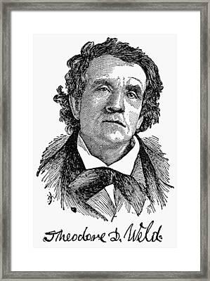 Theodore D Framed Print by Granger
