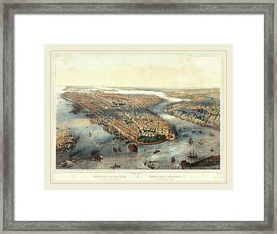 Theodore Muller After William Simpson French Framed Print