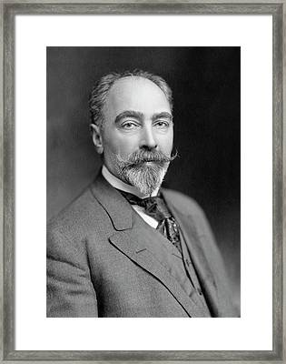 Theodore Weicker Framed Print by Williams Haynes Portrait Collection, Chemists� Club Archives/chemical Heritage Foundation