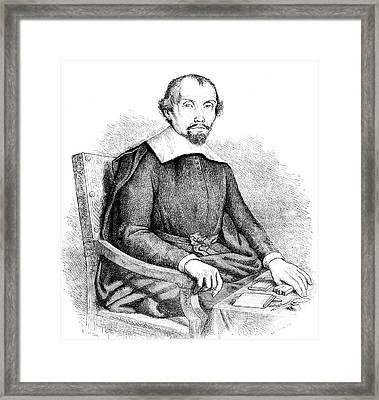 Theophraste Renaudot Framed Print