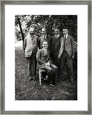 Theoretical Physicists Framed Print