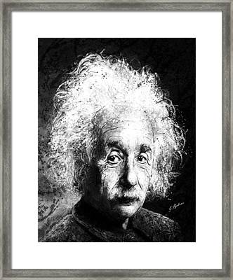 Theoretically Speaking Framed Print