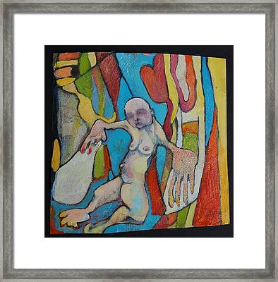 Therapy And Body Dysmorphia Framed Print by Michelle Spiziri