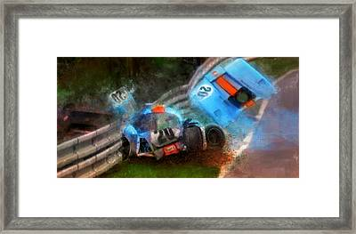There Has Been An Accident Framed Print by Alan Greene
