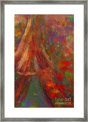 There I Will Give You My Love Framed Print by Deborah Montana