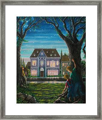 There Is A House In New Orleans Framed Print