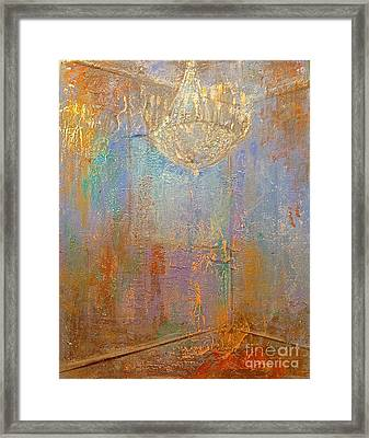 There Is Light In The Room Framed Print