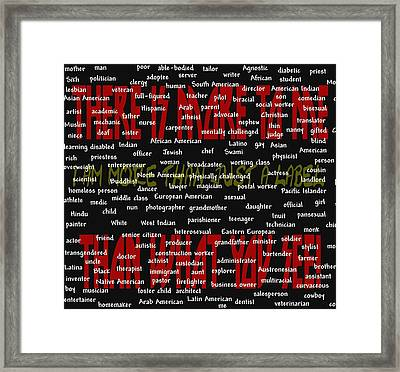There Is More To Me Framed Print by Pharris Art