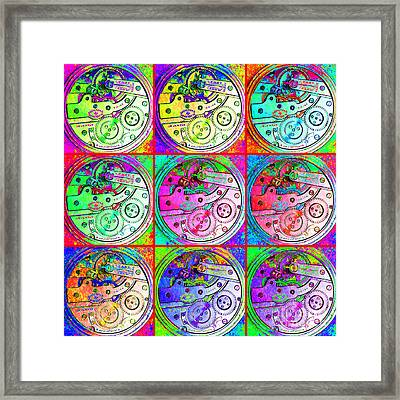 There Is Never Enough Time 20130606 Framed Print by Wingsdomain Art and Photography