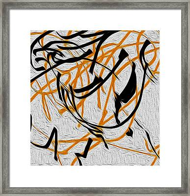 There Is No Other Time Framed Print by Sir Josef - Social Critic -  Maha Art