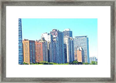 There Is No Solitude In The World Like That Of A Big City Framed Print