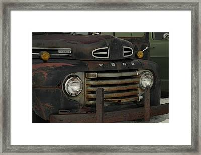 There Is Nothing Like An Old Ford Framed Print