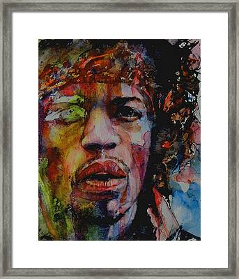 There Must Be Some Kind Of Way Out Of Here Framed Print by Paul Lovering