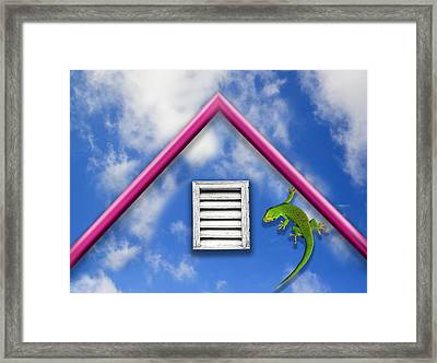There Must Be Some Way Out Of Here Framed Print by Paul Wear